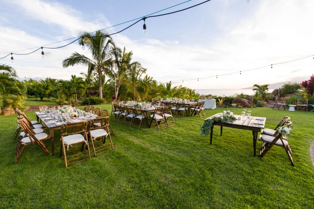 Coconut Palms Estate The Perfect Wedding Maui