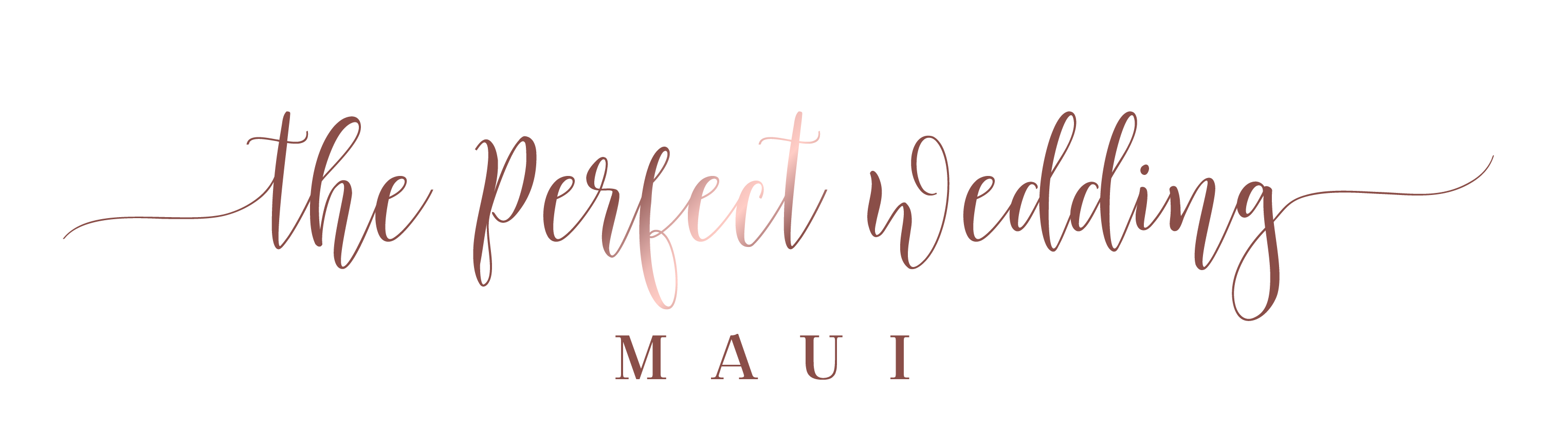 The Perfect Wedding Maui