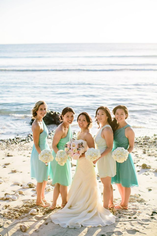 blog - mismatched bridesmaid dresses