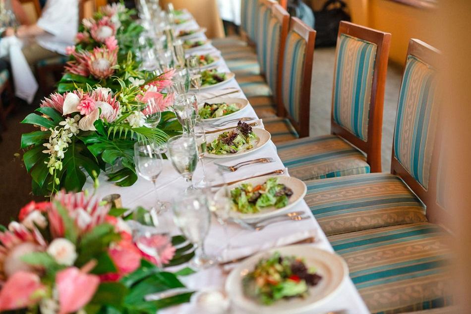 Salad set-up